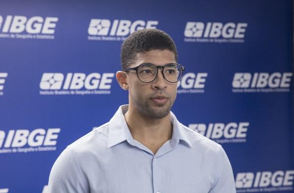 Bernardo Almeida,analista da PIM-PF do IBGE