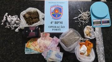 Policiais da Operação Forte prendem três homens por tráfico de drogas em Caruaru