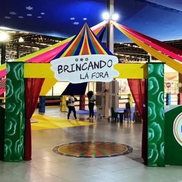 TV Asa Branca realiza a terceira edição do projeto 'Brincando Lá Fora'