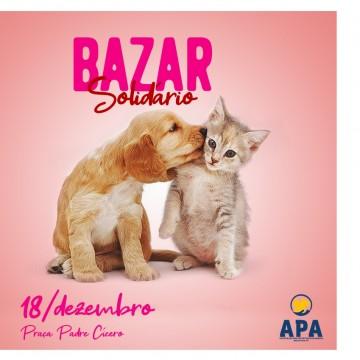 Apa Agrestina realiza 2° Bazar Solidário em prol dos animais de rua