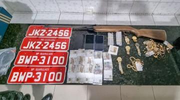 Homem é preso com carga roubada em Caruaru
