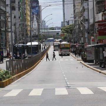 Reeducandos do regime aberto concluem arborização na Avenida Conde da Boa Vista