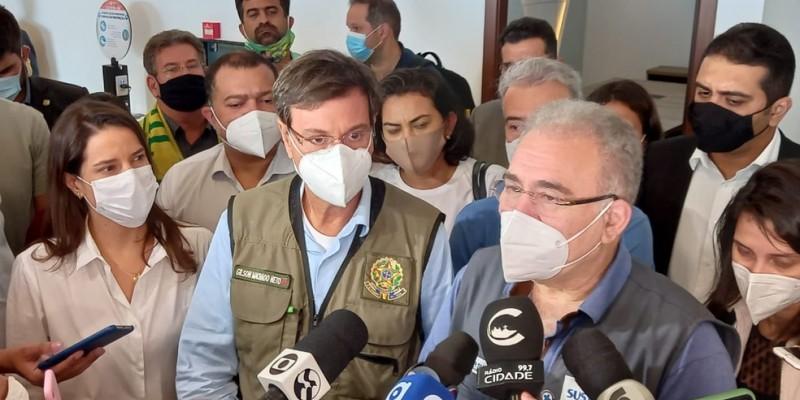 A visita do Ministro deve-se devido a situação do Agreste do estado, mediante os casos da Covid-19