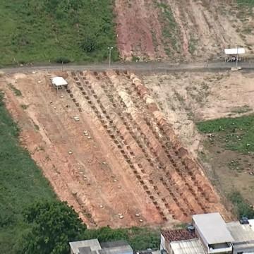 Cemitérios em Olinda e Recife abrem sepulturas extras por causa da Covid-19