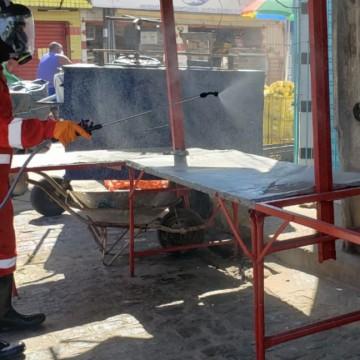 Bairros de Olinda recebem ação para combate ao coronavírus
