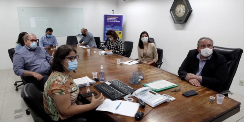 Primeira reunião do comitê técnico de imunização foi realizada nesta quinta-feira (7)