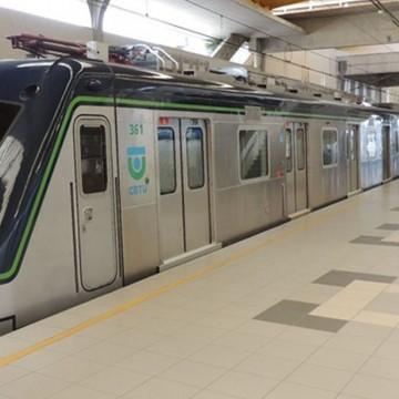 Manutenção no Metrô do Recife aumenta intervalo entre os trens neste domingo (13)