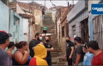 HOMEM FOI ASSASSINADO NA MADRUGADA DE HOJE NO BAIRRO CENTENÁRIO EM CARUARU