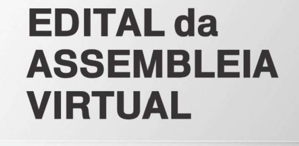 SINCATA - EDITAL DE CONVOCAÇÃO - ASSEMBLÉIA EXTRAORDINÁRIA VIRTUAL