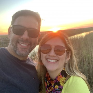 Dentista pernambucna visita Everglades com a família