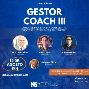 Acicpromove seminário sobre importância do coaching nas empresas