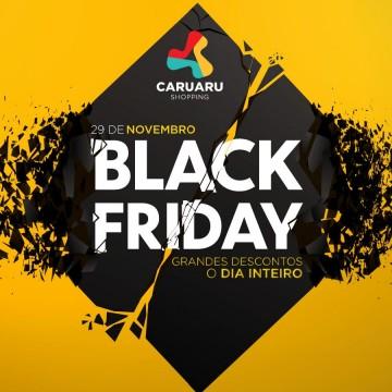 Caruaru Shopping com horário especial no Black Friday