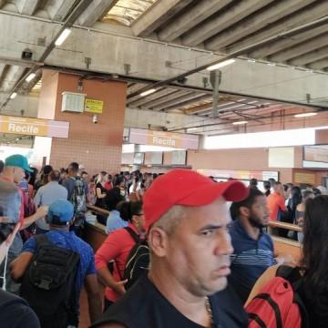 Vandalismo no Metrô do Recife atrasa viagens