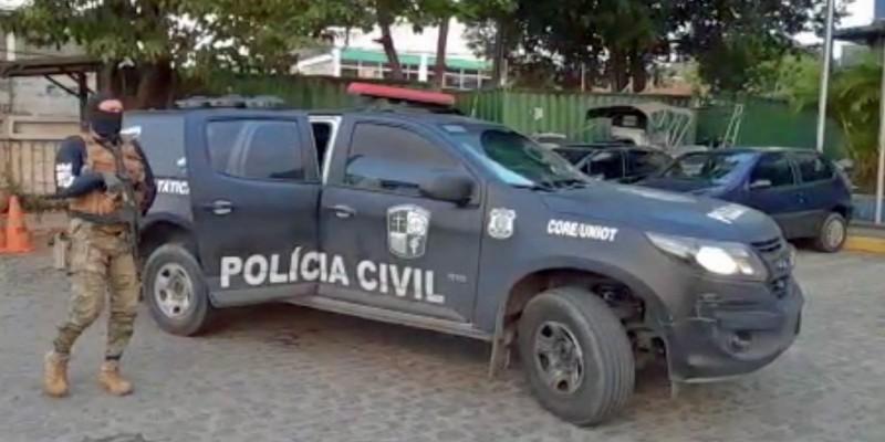 As investigações da Polícia Civil buscam envolvidos em crimes de dano ao patrimônio, corrupção de menores e lesão corporal