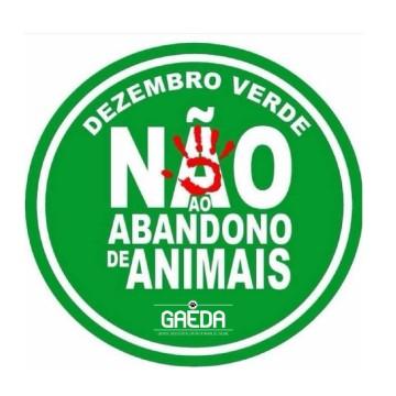 GAEDA realiza campanha Dezembro Verde e alerta para abandono de animais em período de férias
