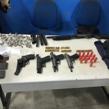 Grupo é preso por envolvimento com o tráfico de drogas e homicídios