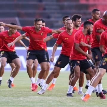 Após festa do acesso, jogadores do Sport se reapresentam para último jogo da Série B