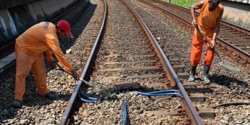 Somente neste ano, a Companhia Brasileira de Trens Urbanos contabilizou 20 ocorrências de tentativas e de roubos de cabos no local