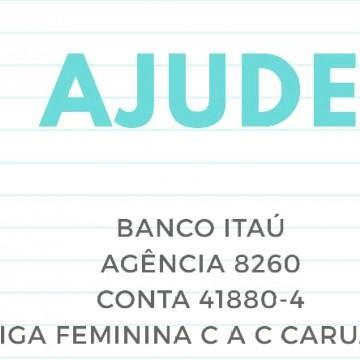 Liga Feminina de Caruaru pede doações para casa de apoio