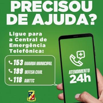 Central de Emergência telefônica começa a atender a população em Caruaru