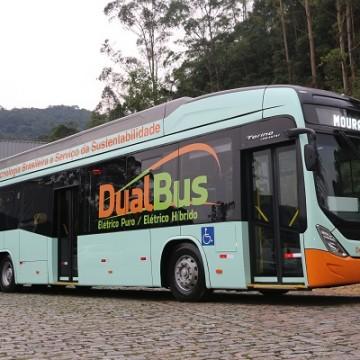 Eletra e Acumuladores Moura lançam o primeiro ônibus elétrico híbrido com 100% de nacionalização