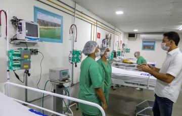 Prefeitura do Jaboatão entrega hospital de campanha para tratar pacientes de Covid-19