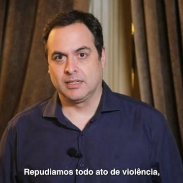 Paulo Câmara se pronuncia sobre agressão a manifestantes