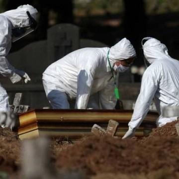 Mortes por Covid-19 ultrapassam marca anual de homicídios no estado