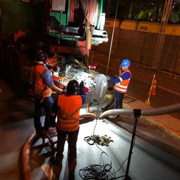 Mais de 995 toneladas de lixo são retiradas de rede de esgoto no Recife