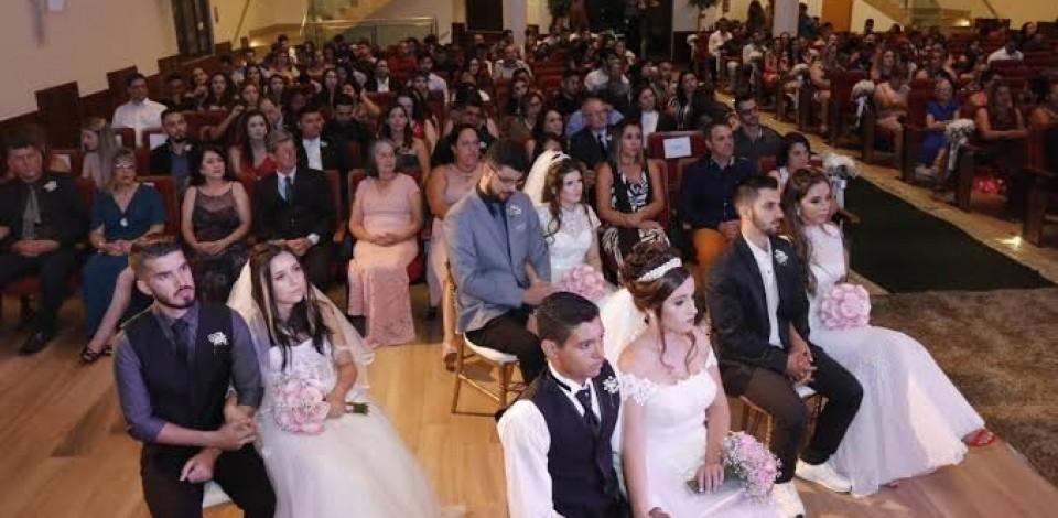 Casamento Coletivo com inscrições gratuitas até o dia 22