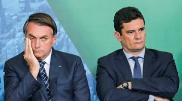 Bolsonaro diz que Moro propôs aceitar demissão de diretor da PF se fosse indicado ministro do STF