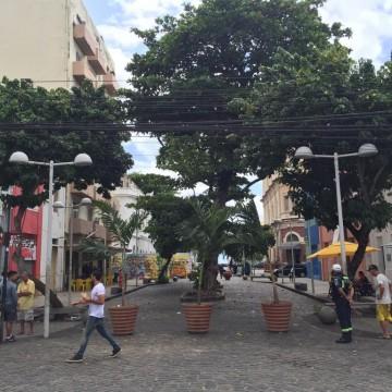 Rua da Moeda passa a ter circulação exclusiva de pedestres