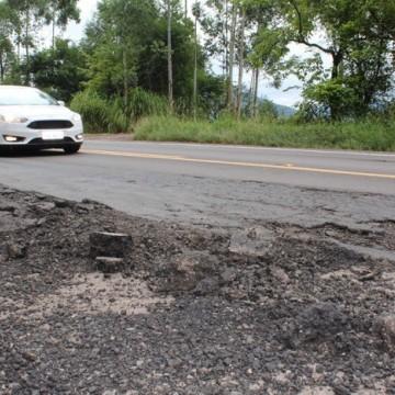 Ruas e BRs em má conservação prejudicam motoristas