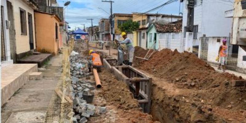 Com o aporte de R$ 65 milhões, o SES Goiana consiste na construção de uma Estação de Tratamento de Esgoto e mais três Estações Elevatórias