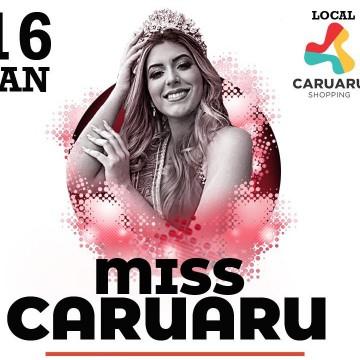 Miss Caruaru 2020 acontece na próxima quinta-feira