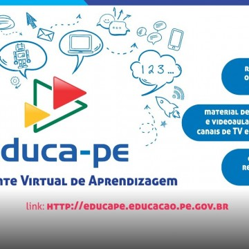 Em Pernambuco, plataforma virtual apoia rede estadual de ensino