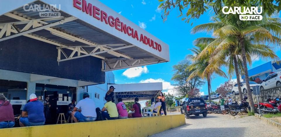 Homem sofre tentativa de homicídio no Parque 18 de Maio, em Caruaru