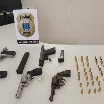 Operação Toca prende 25 pessoas em Ipojuca