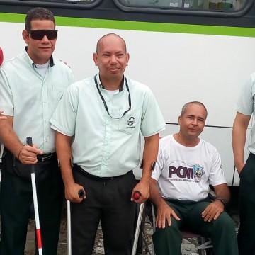 Motoristas de ônibus do Grande Recife recebem capacitação para ajudar passageiros