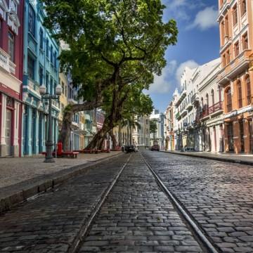 Recife investe na ampliação de calçadas