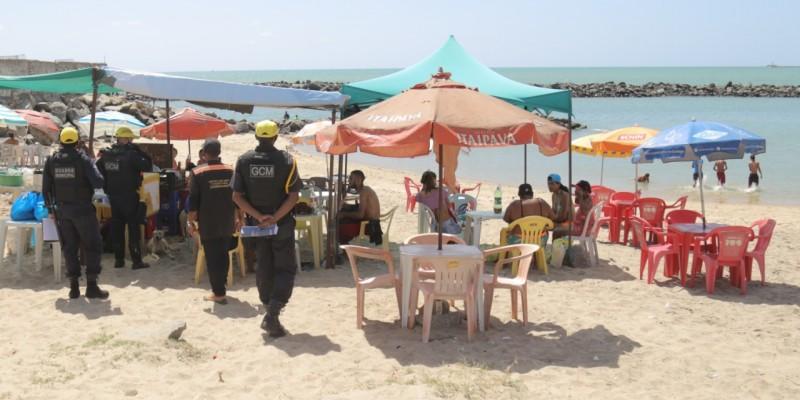 Iniciativa ocorreu nas praias de Olinda no fim de semana
