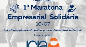 Maratona Empresarial Solidária beneficia Icia com doações