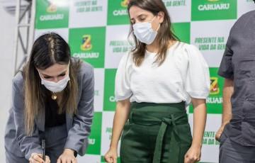 Nova secretária da Fazenda de Caruaru é empossada