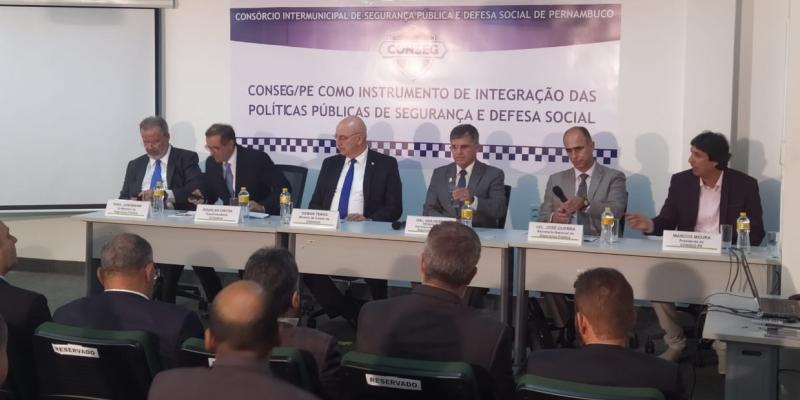 Ao longo do evento, foram apresentadas sugestões para a área da segurança pública, uma delas é a atração de mais investimentos para o setor