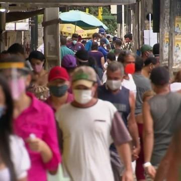 Em Pernambuco, 98% dos municípios registraram casos graves da Covid-19
