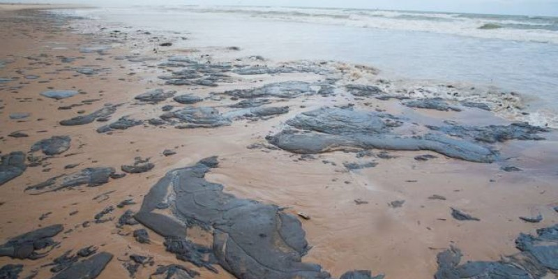 Vazamento de petróleo cru já afetou oito estados do Nordeste