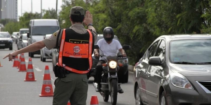 Segundo o Batalhão de Policiamento de Trânsito, a ação já vinha acontecendo, mas agora com o coronavírus, está mais intensa