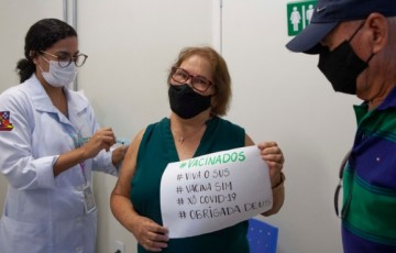 Pernambuco aplica 1milhão de doses de vacina contra Covid-19