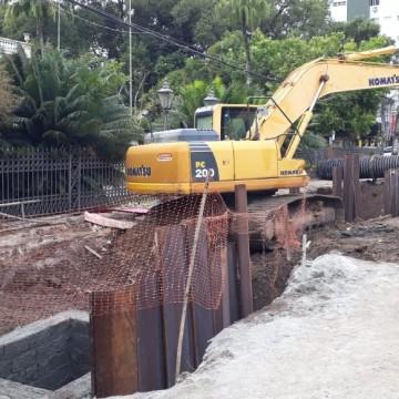 Interdição de trecho da Avenida Rui Barbosa é prorrogada
