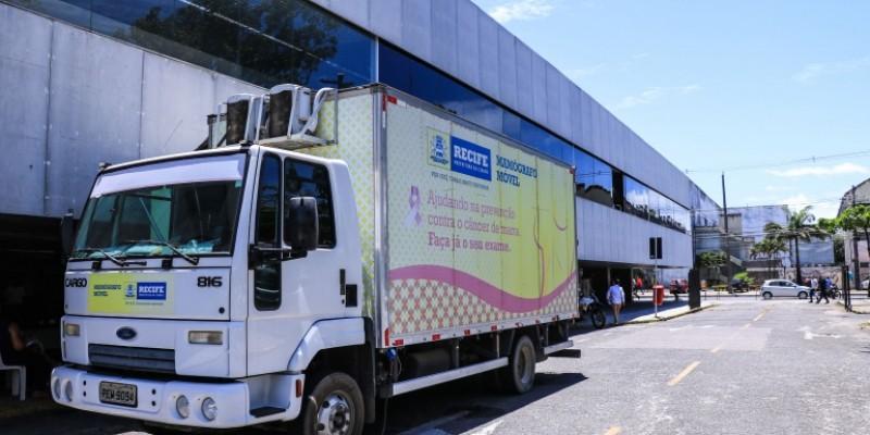 Ações do mamógrafo móvel começarão nesta segunda-feira (4) e o caminhão percorrerá 20 pontos da capital